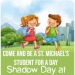 Shadow Day is Tomorrow (March 5th)